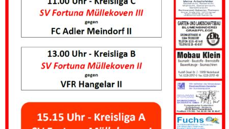 Nächstes Heimspiel der Fortuna: Sonntag, der 25.10.20