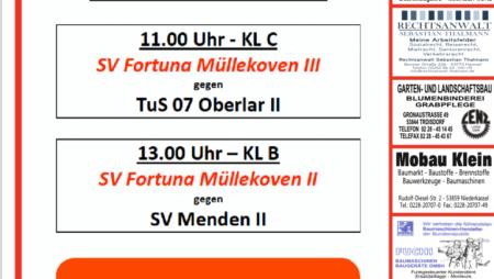 Nächstes Heimspiel der Fortuna: Sonntag der 12.09.2021